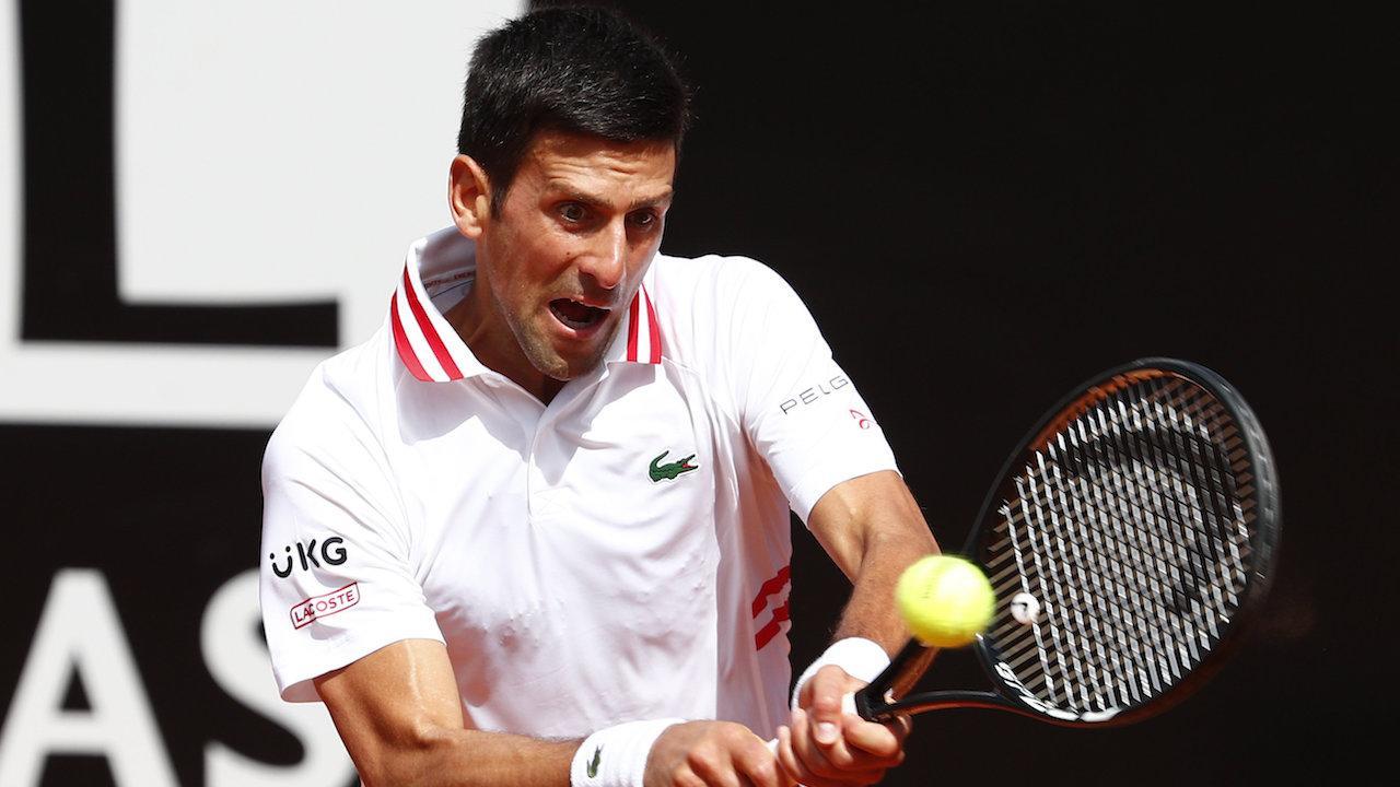 """""""ยอโควิช"""" พิชิต """"โฟกินา"""" 2-0 เซต ควง นาดาล เข้ารอบ 8 คน เทนนิสที่อิตาลี"""