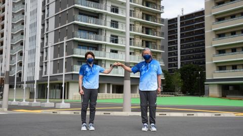 """หรูหราน่าอยู่ เผยโฉมบ้านพักนักกีฬาโอลิมปิก """"โตเกียวเกมส์ 2020"""""""