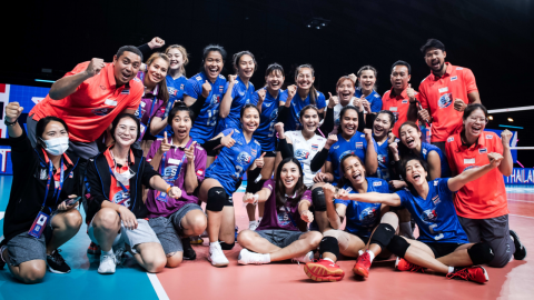 """สรุปเส้นทาง """"วอลเลย์บอลหญิงทีมชาติไทย"""" ในศึก """"เนชันส์ลีก"""" 2021 ทั้ง 5 สัปดาห์"""