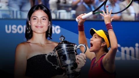 เอ็มมา ราดูคานู : จากเป้าหมายลงแข่งแค่หาเงินซื้อหูฟังแบรนด์ดังสู่แชมป์ US Open