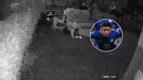 """""""รีซ เจมส์"""" สุดแซด ถูกโจรยกเค้าบ้าน ฉกเหรียญแชมป์ UCL ลอยนวล (คลิป)"""