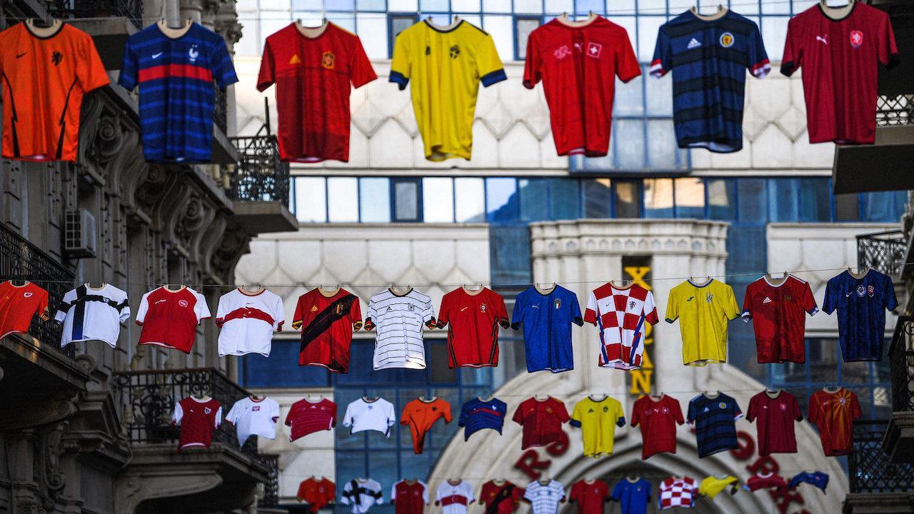 ประมวลภาพสีสันและบรรยากาศ ก่อนถึงศึกฟุตบอลยูโร 2020