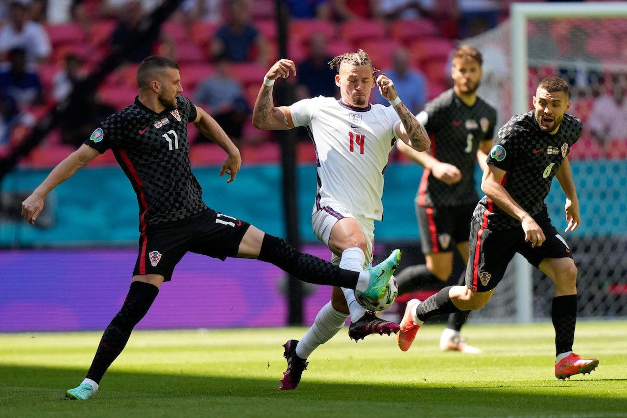 ประมวลภาพ อังกฤษ ประเดิมเฉือน โครเอเชีย 1-0 ยูโร 2020