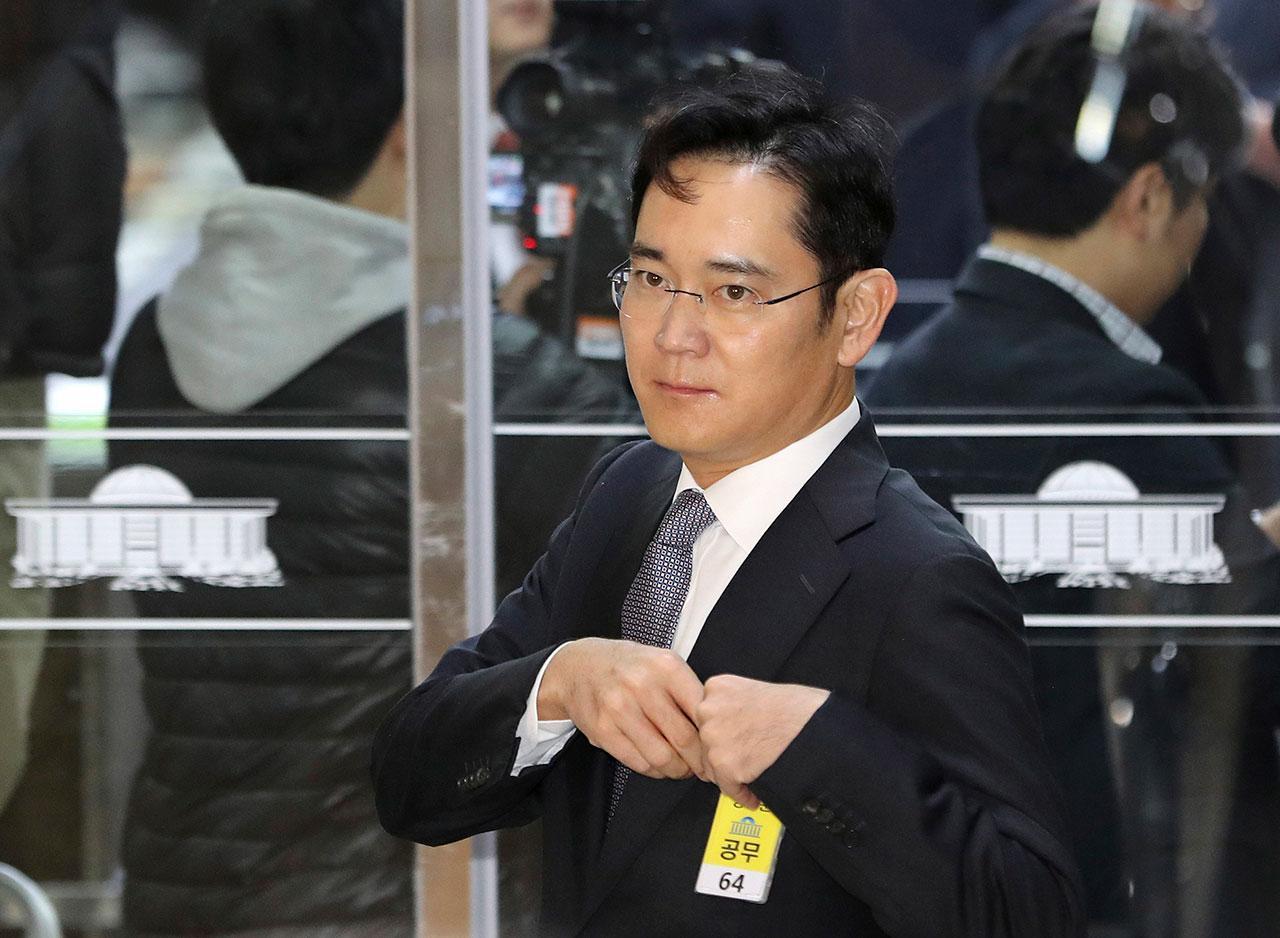 นายลี แจ ยอง รองประธานบริษัทซัมซุง อิเล็กทรอนิกส์