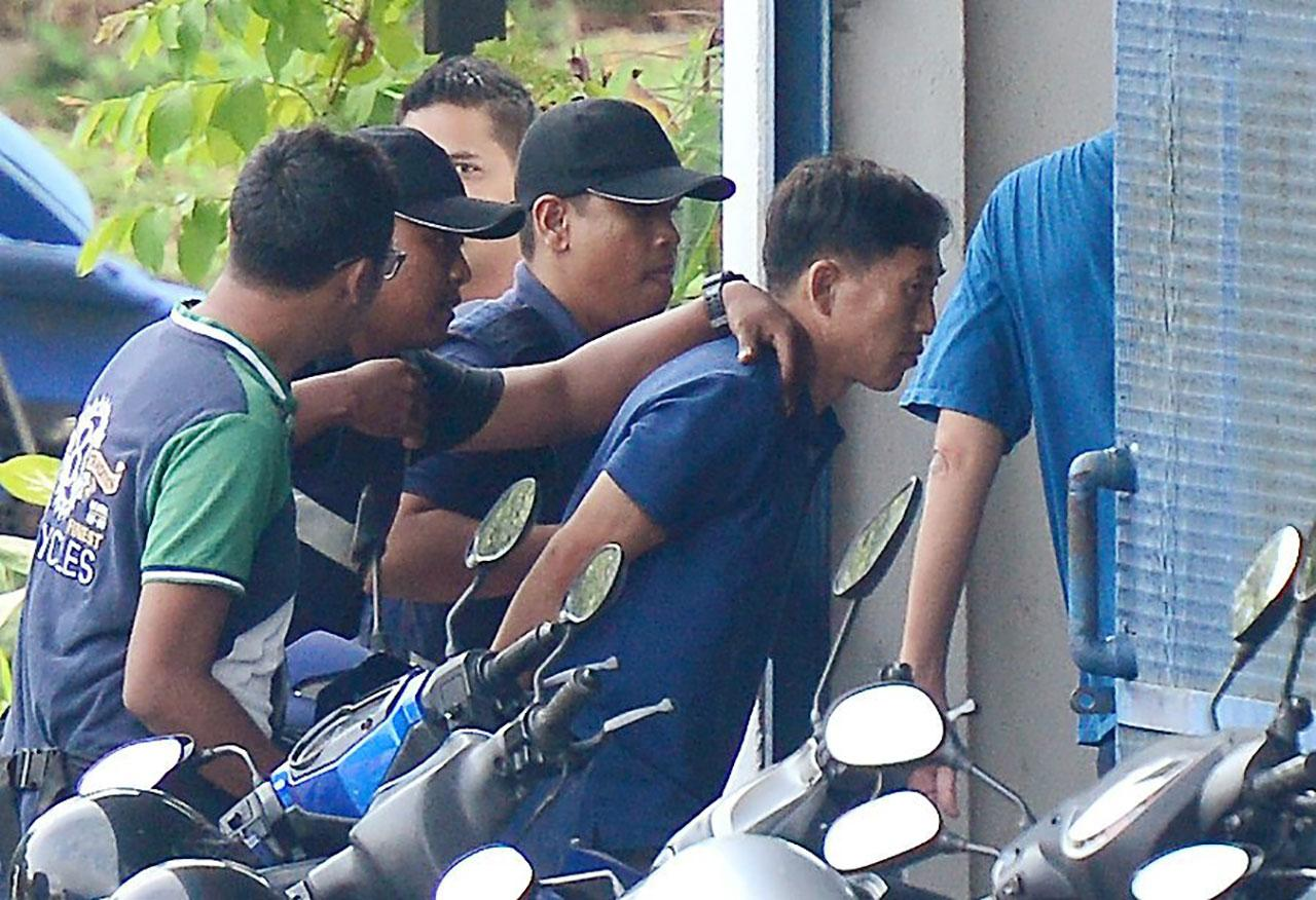 ตำรวจมาเลเซีย รวบตัวนายรี จอง ชอล ชายชาวเกาหลีเหนือ ก่อนจะปล่อยตัวเมื่อ2มี.ค.60