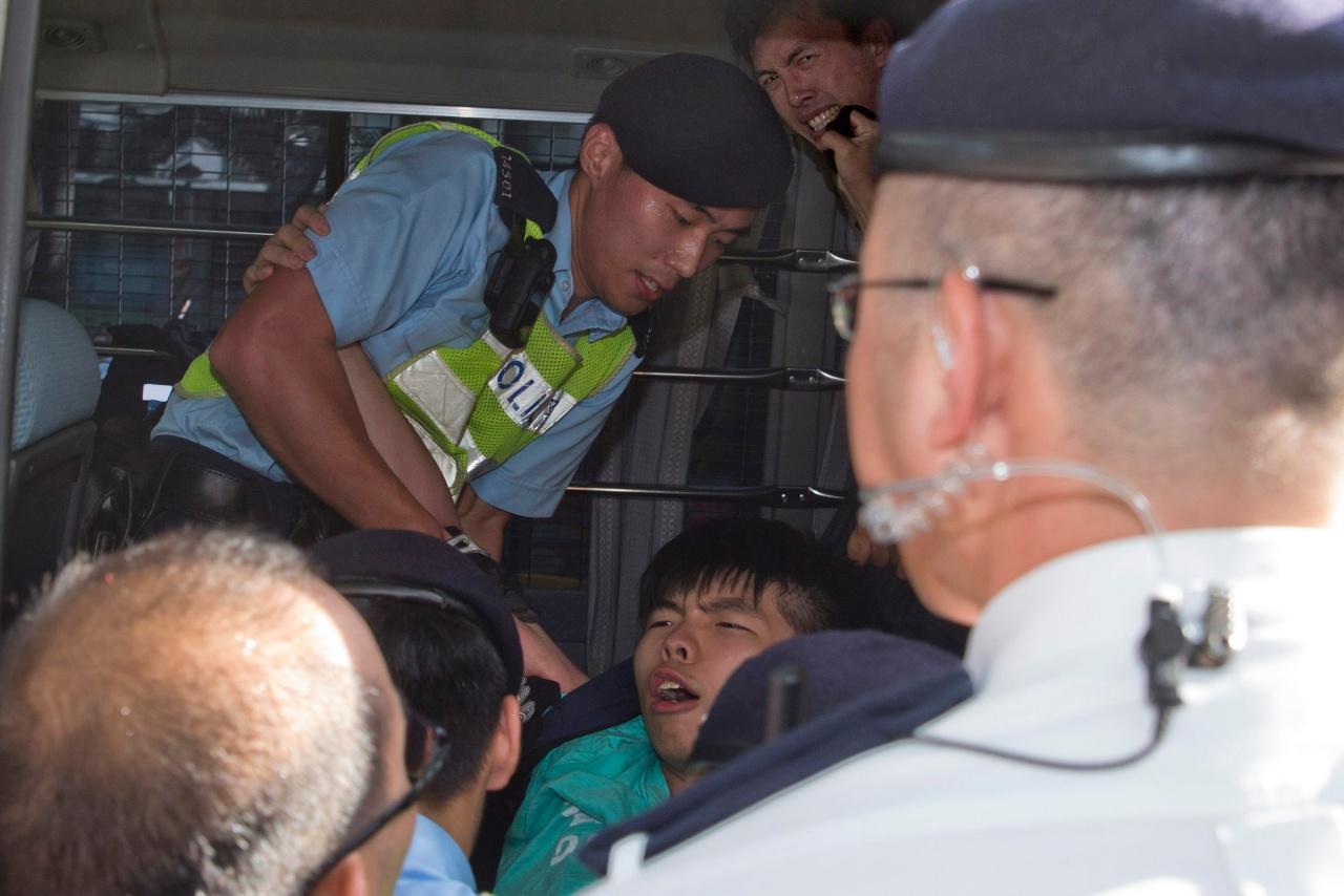 โจชัว หว่อง ถูกจับครั้งที่ 2 ในรอบ 1 สัปดาห์