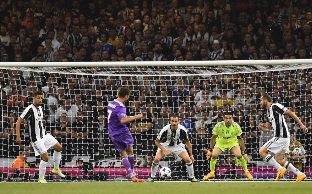 คริสเตียโน โรนัลโด ยิงประตูให้ราชันออกนำ 1-0
