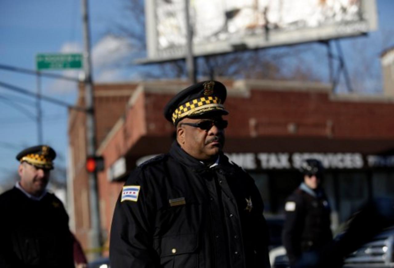 เอดดี จอห์นสัน ผู้กำกับการตำรวจเมืองชิคาโก