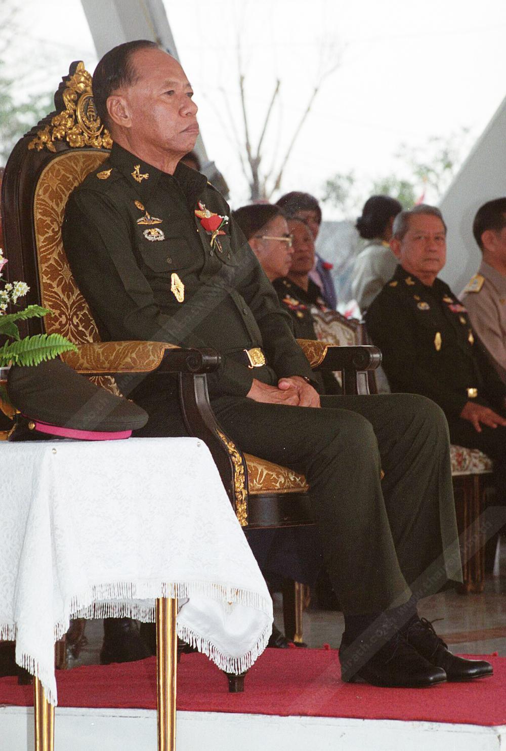 'บิ๊กซัน' สมัยยังรับราชการทหาร