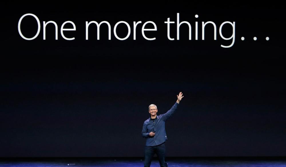 ปีนี้ แอปเปิลยังมีอีกหลายอย่างจะมาขาย