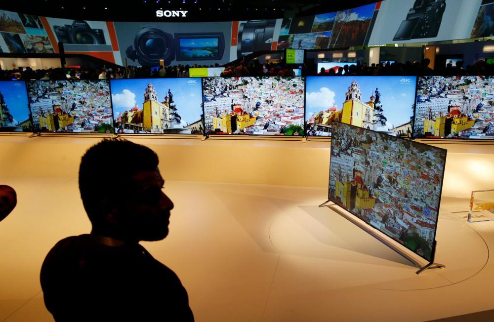 ทีวี 4K ของโซนี่บางแค่ 4 มม.