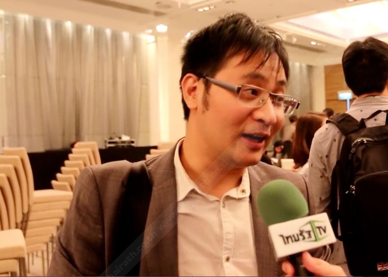 เจเรมี จ้าว ประธานกลุ่มบริษัทแซดทีอี คอร์ปอเรชั่น ดีไวซ์ของภูมิภาคเอเชียตะวันออกเฉียงใต้