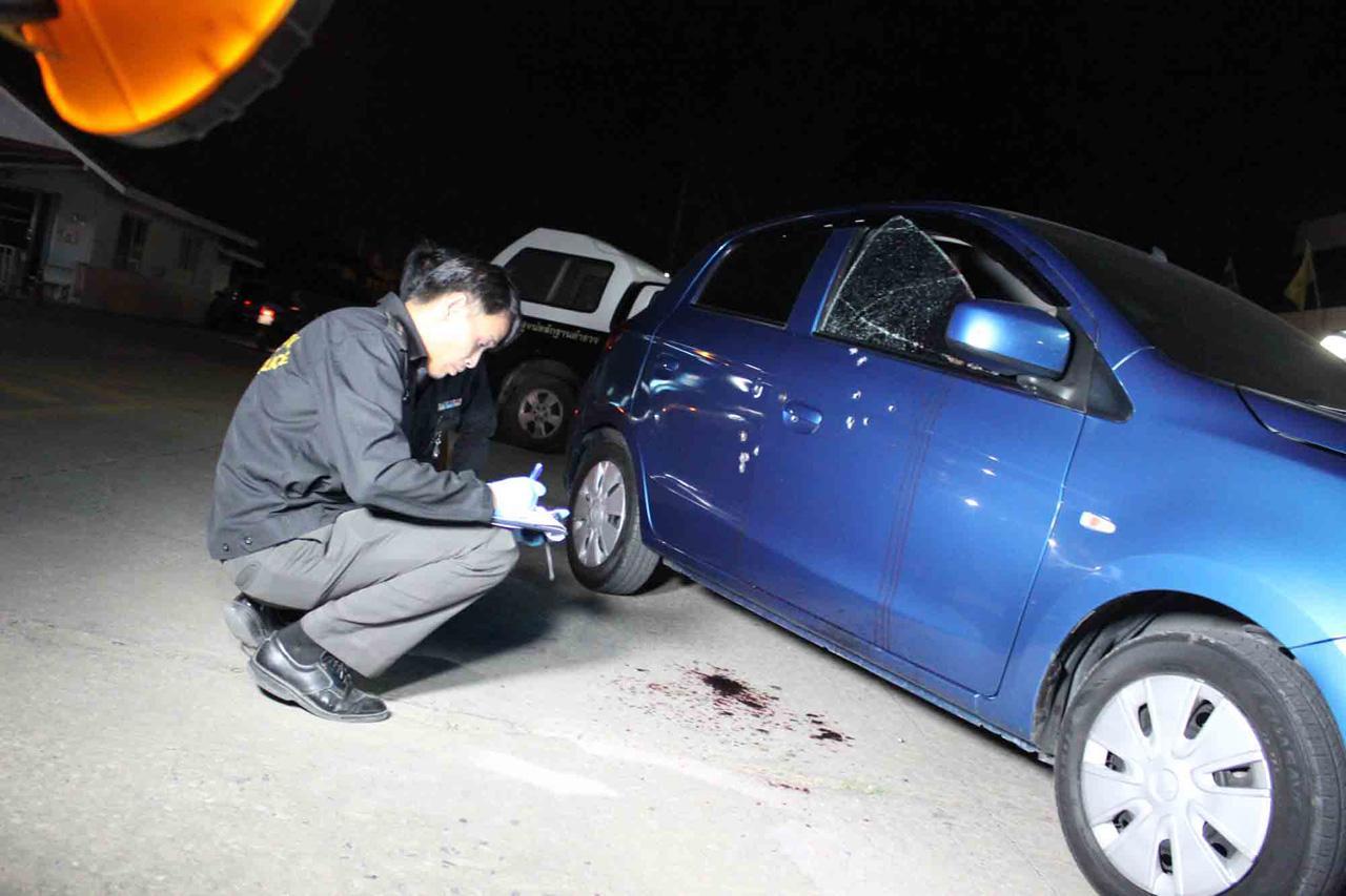 รถของผู้บาดเจ็บ