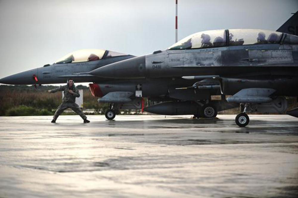 เครื่องบิน เอฟ-16 ทอ.สหรัฐ