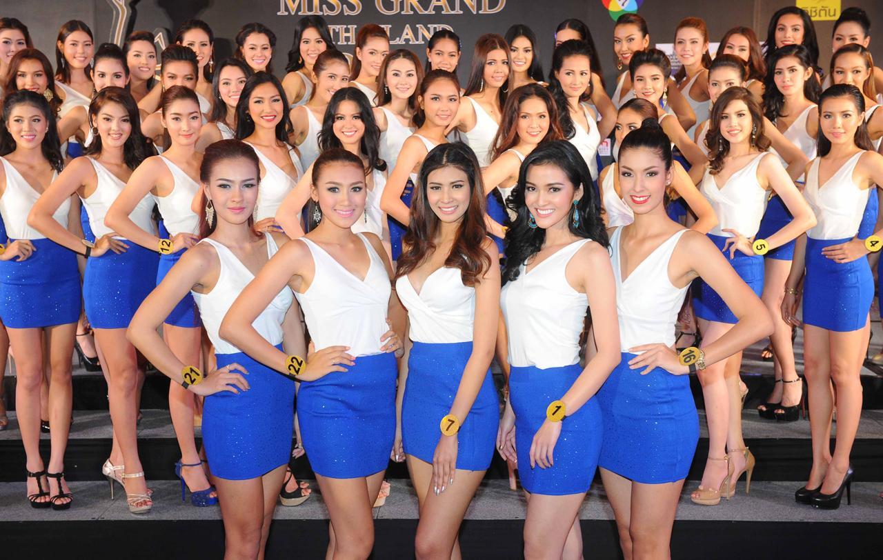 ผู้เข้าประกวดมิสแกรนด์ไทยแลนด์ 2014