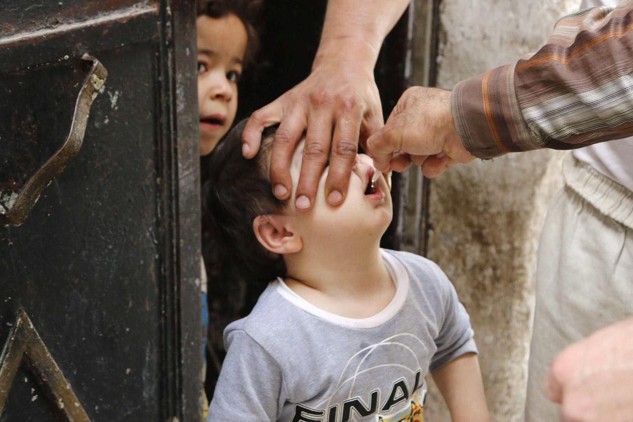 เชื้อไวรัสโปลิโอกำลังระบาดในหลายประเทศของเอเชีย,แอฟริกาและตะวันออกกลาง