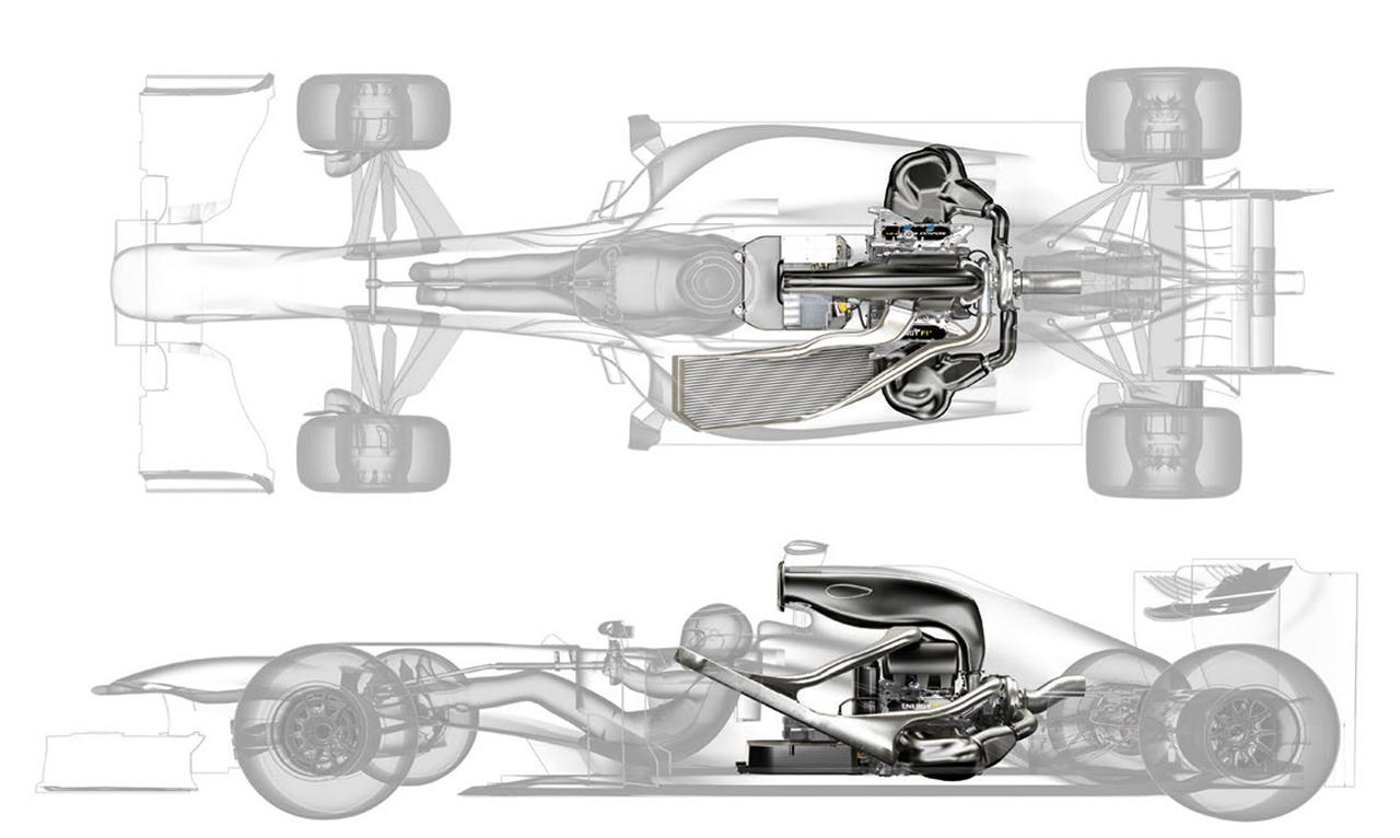 1.6L V6 Turbo f1 Engine