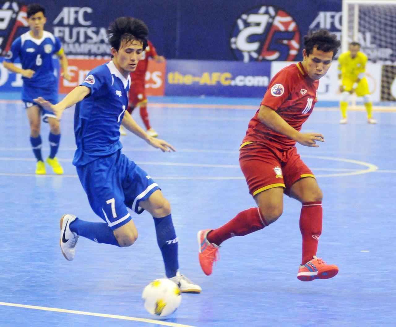 ทีมไทยไล่ต้อนเอาชนะทีมไต้หวัน 5-2