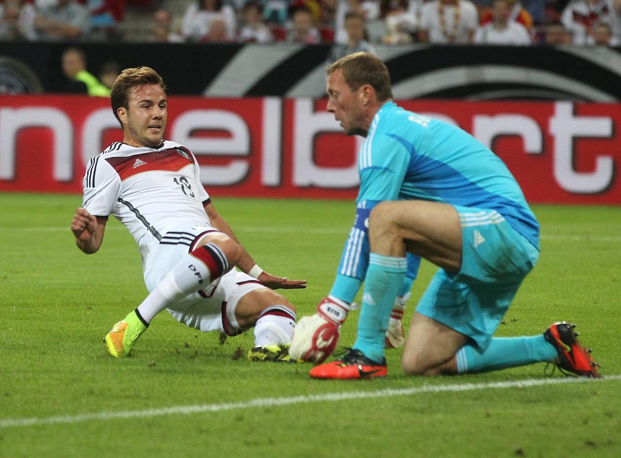 เกิทเซ เพิ่งเหมาคนเดียว 2 ประตูในเกมอุ่นเครื่องที่เยอรมนีถล่มอาร์เมเนีย 6-1