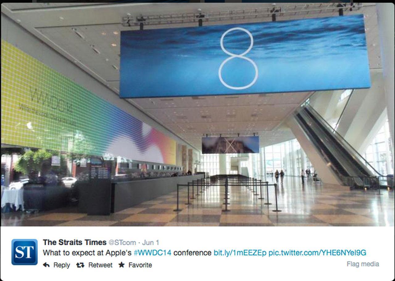 เลข 8 นี้อาจหมายถึง iOS8