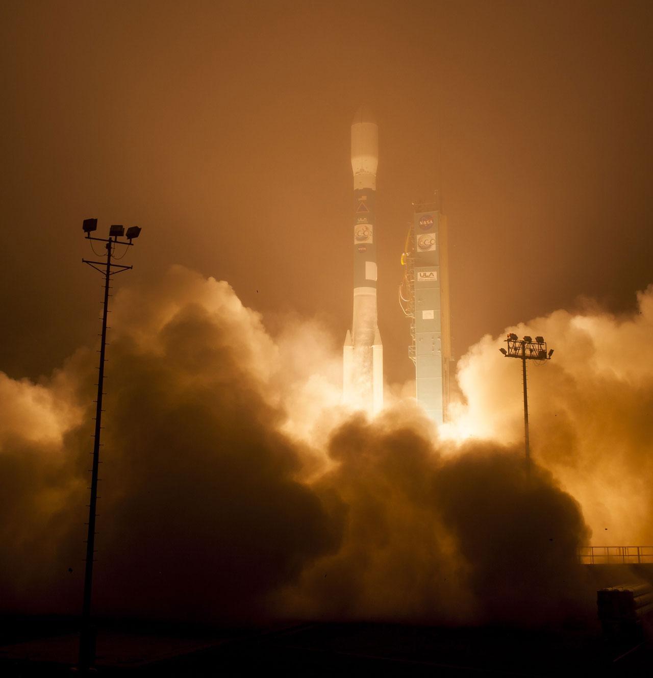 จรวดเดลตา ทู พร้อมดาวเทียม OCO-2 ทะยานขึ้นฟ้า