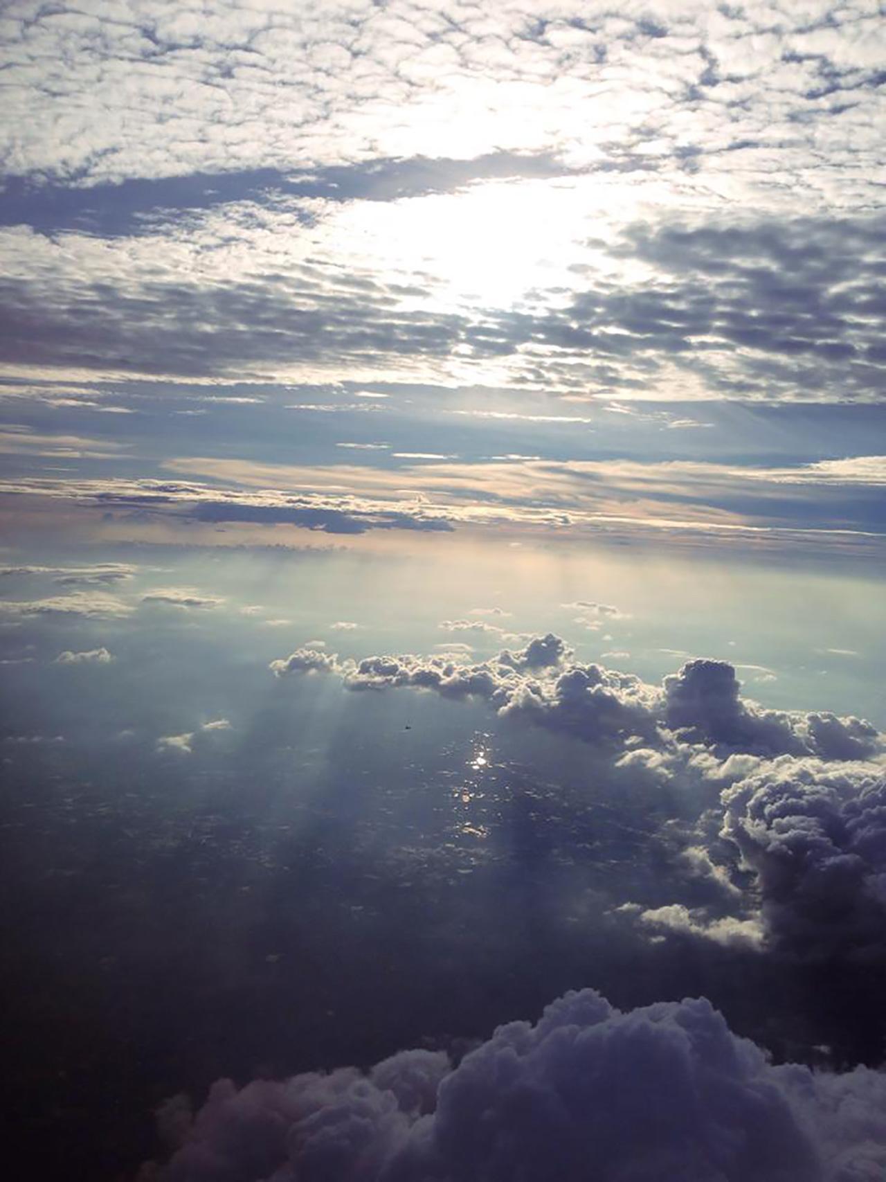 แสงแดดทะลุเมฆ