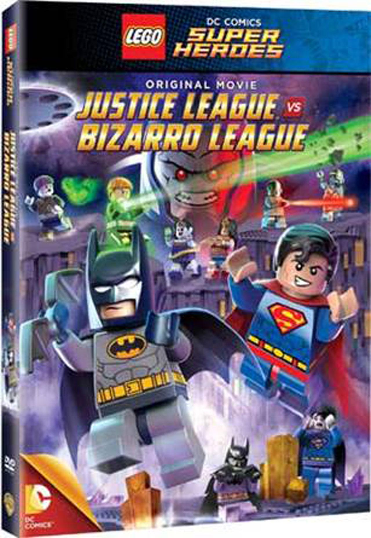 Lego Batman : JL vs Bizarro League : เลโก้ แบทแมน : จัสติซ ลีก ปะทะ บิซาโร่ ลีก