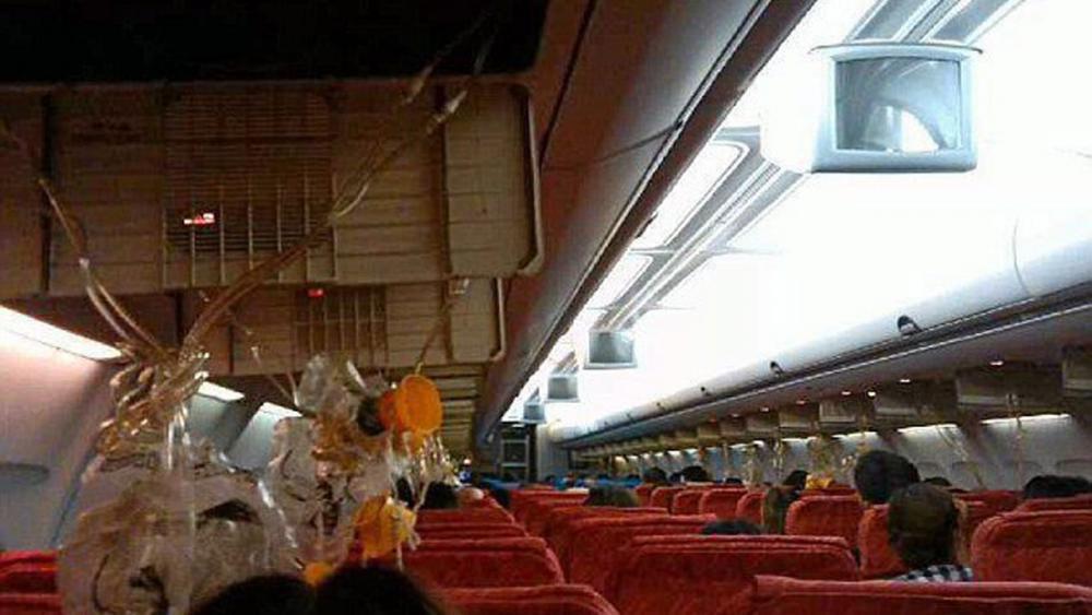 เที่ยวบินที่โอเอ็กซ์ 682 เครื่องยนต์ขัดข้อง ดิ่งลดระดับกะทันหัน