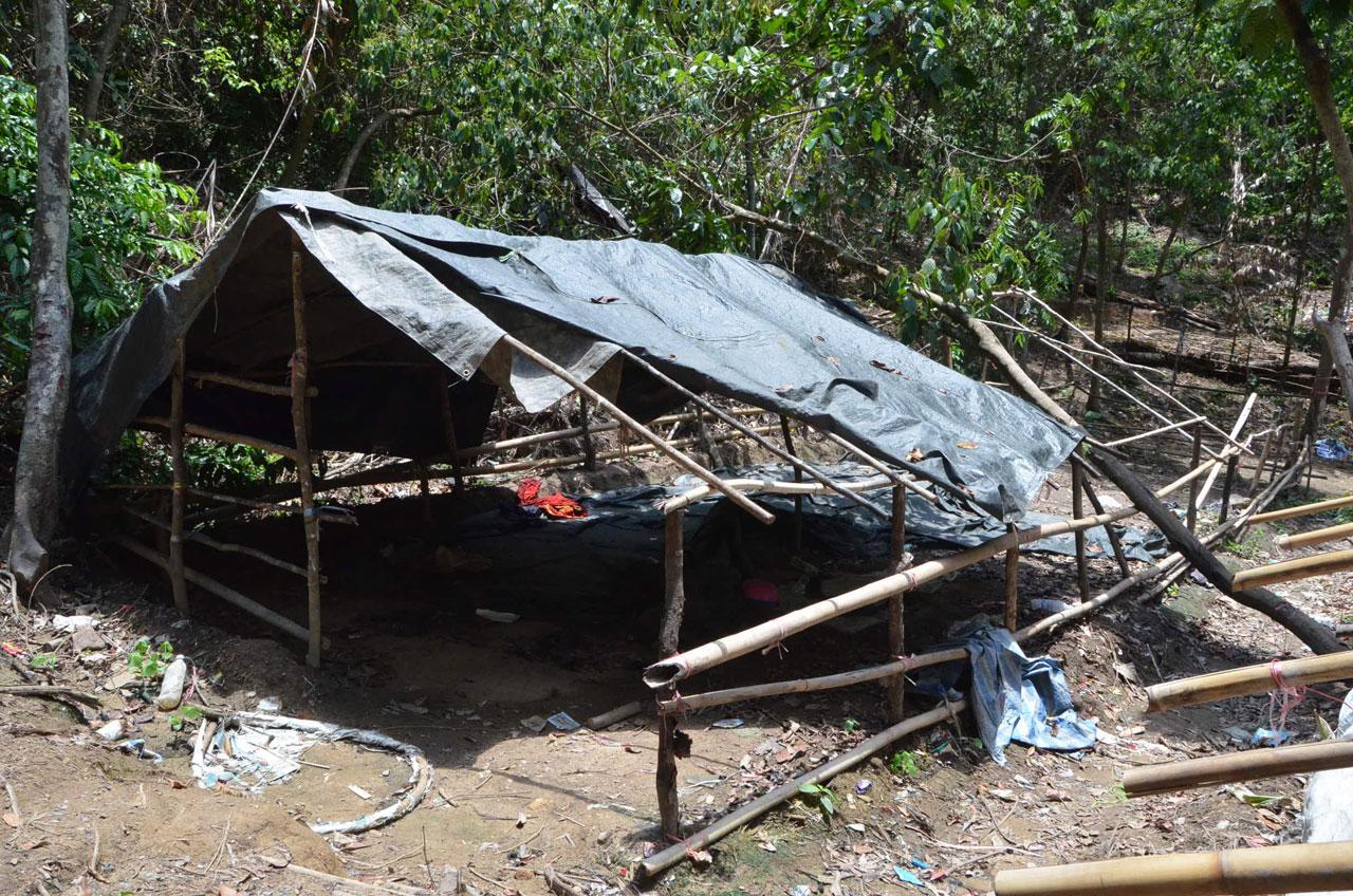 สภาพเพิงพักพิง ชาวโรฮิงญา ก่อนถูกส่งต่อไป ประเทศ ที่ 3