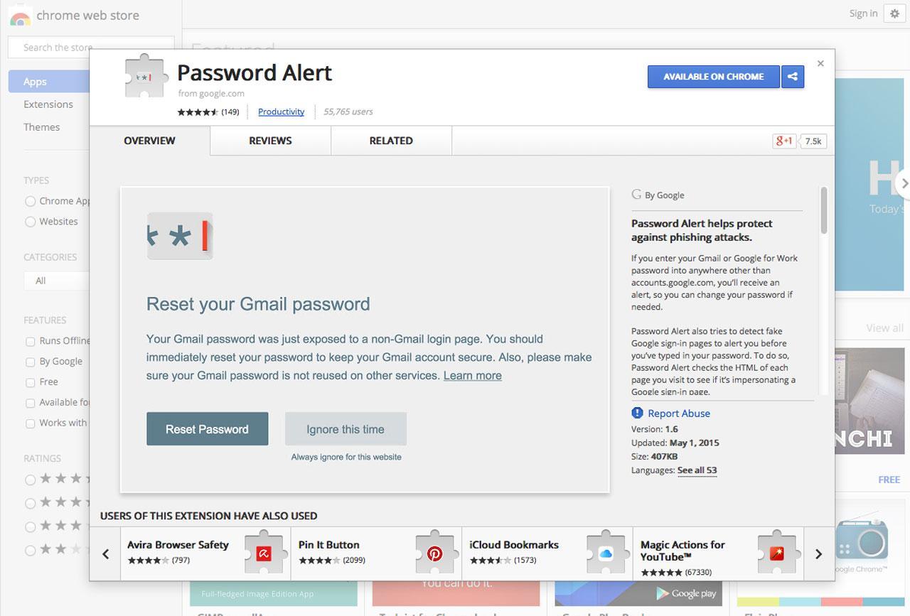 Password Alert จากกูเกิล...