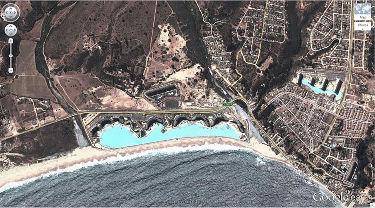 สระว่ายน้ำที่ใหญ่ที่สุดในโลก ณ ชิลี