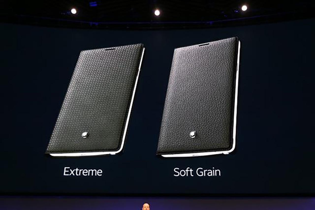 ซองใส่ Galaxy Note 4 ของ Montblanc