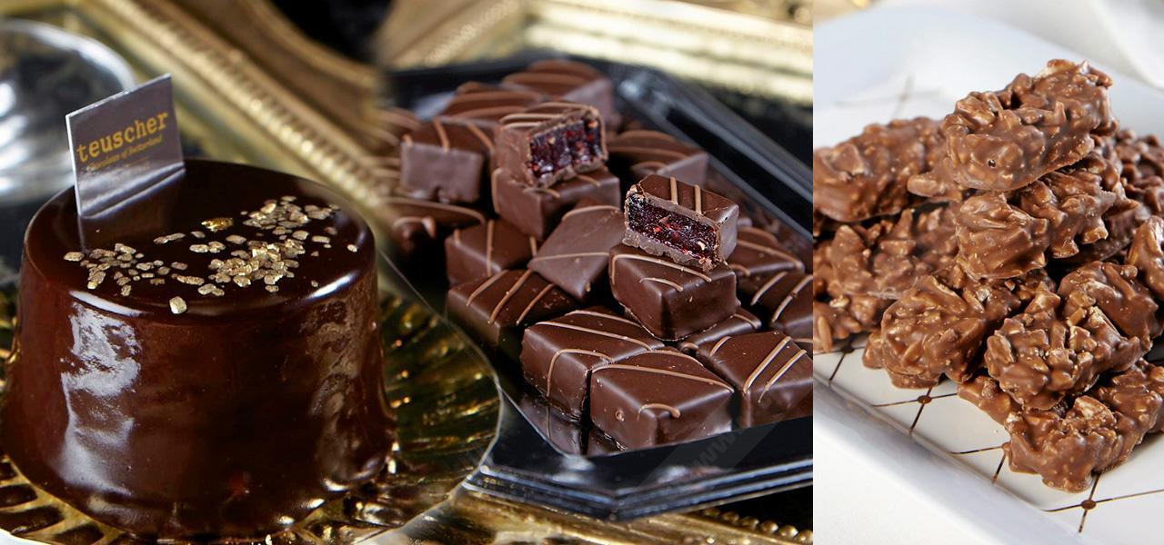 ทอยส์เชอร์ (Teuscher) ร้านช็อกโกแลตแบรนด์ดัง