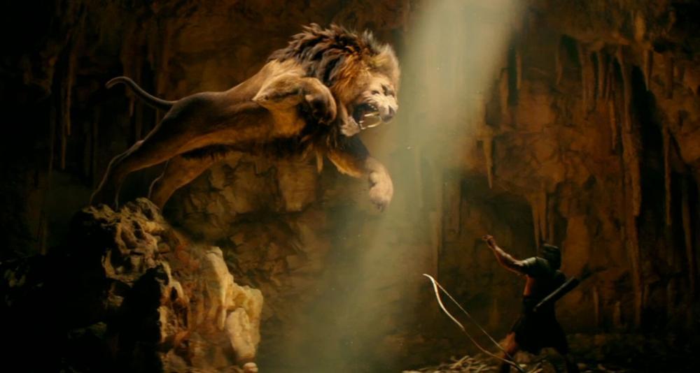 เมื่อเฮอร์คิวลิสต้องเผชิญหน้ากับสิงโตร้ายในตำนาน