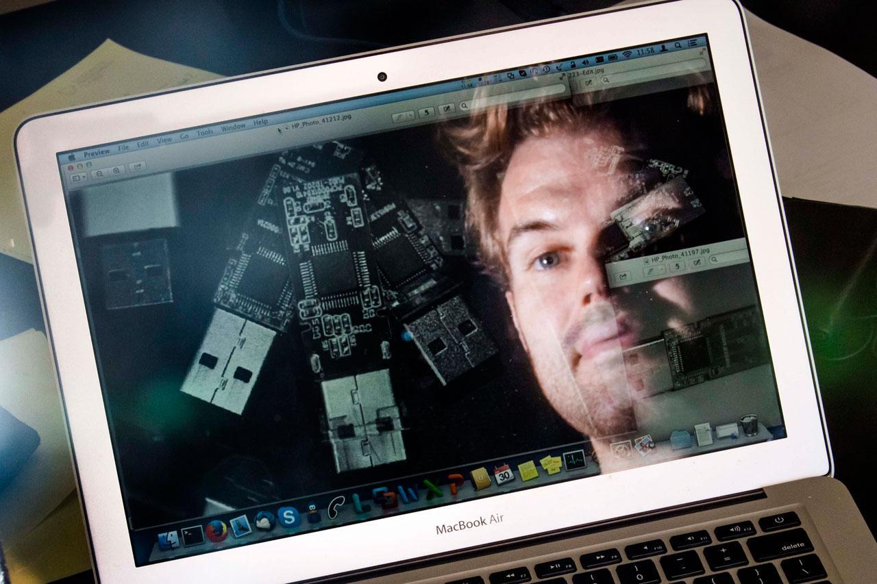 เพียงเชื่อมอุปกรณ์ยูเอสบีที่มีมัลแวร์ คอมพิวเตอร์ก็จะถูกมัลแวร์ขโมยข้อมูล