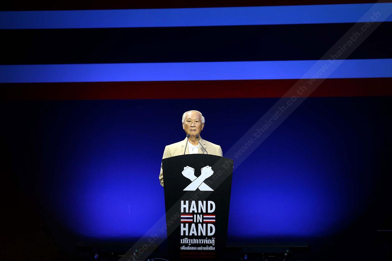 ประมนต์ สุธีวงค์ ประธานองค์กรต่อต้านคอร์รัปชัน (ประเทศไทย)