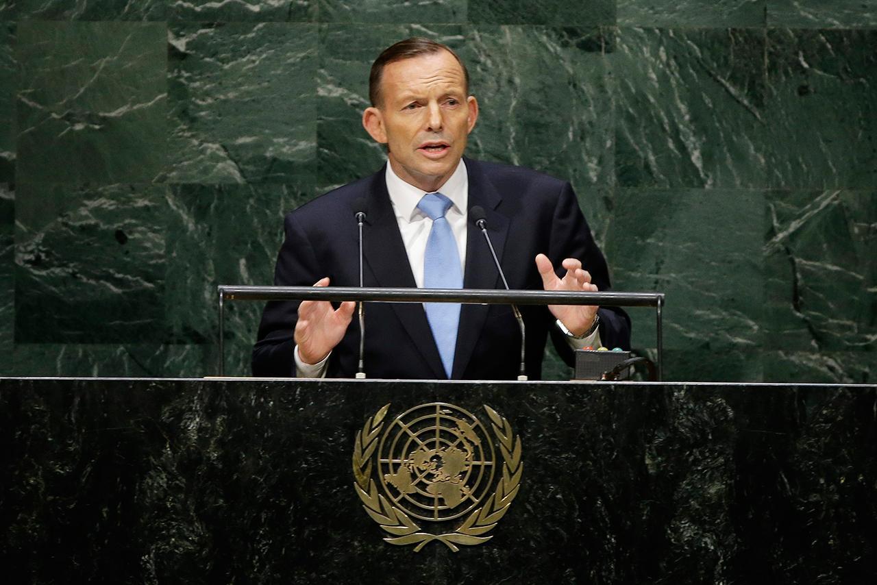 โทนี แอ็บบ็อตต์ นายกรัฐมนตรีออสเตรเลีย