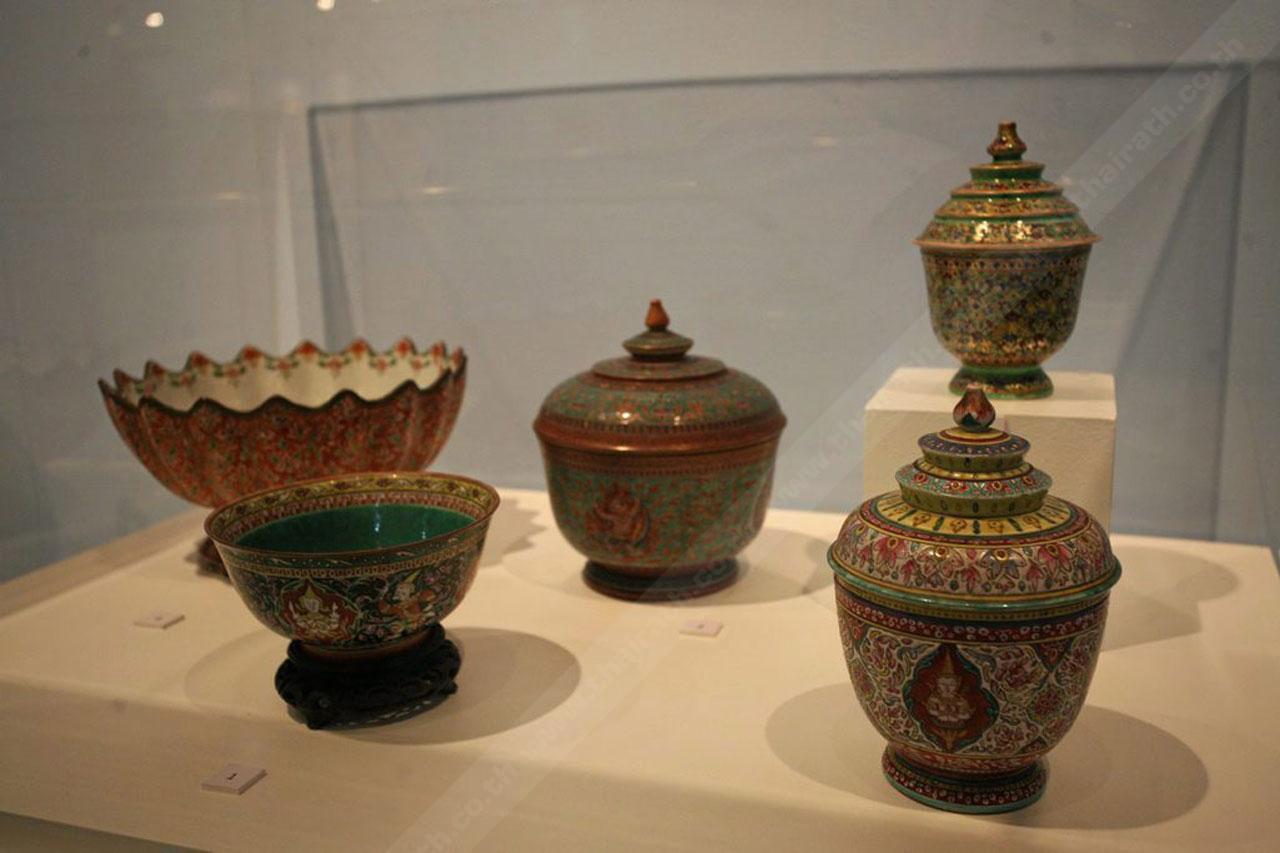 งานช่างศิลปกรรมไทย พิพิธภัณฑสถานแห่งชาติ พระนคร