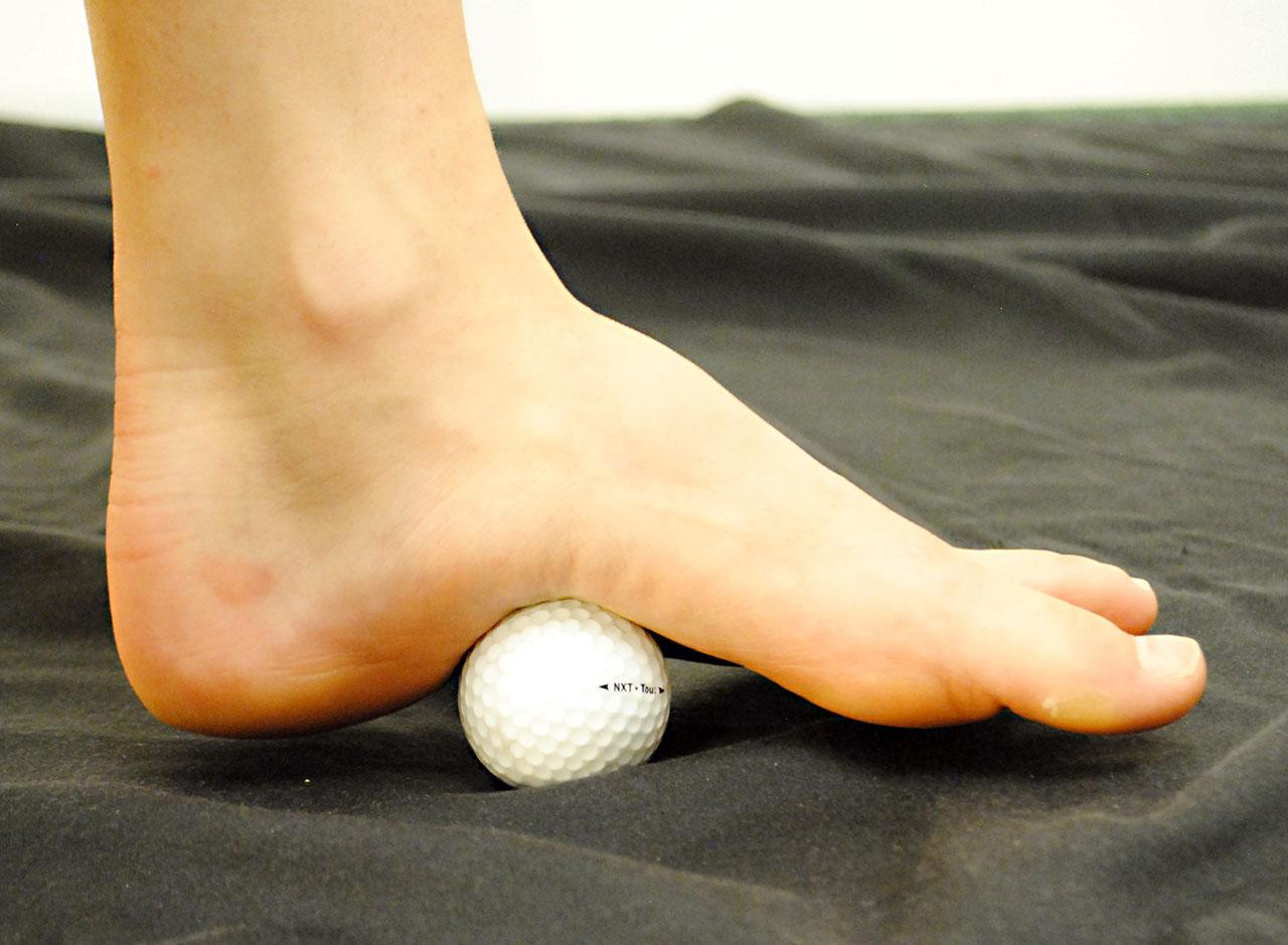 ลูกกอล์ฟนวดคลึงเท้า