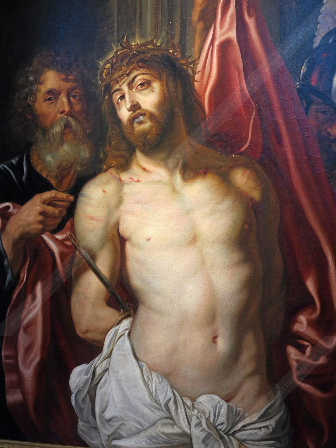 ภาพพระเยซูฝีมือจิตรกรเอก..รูเบนส์.