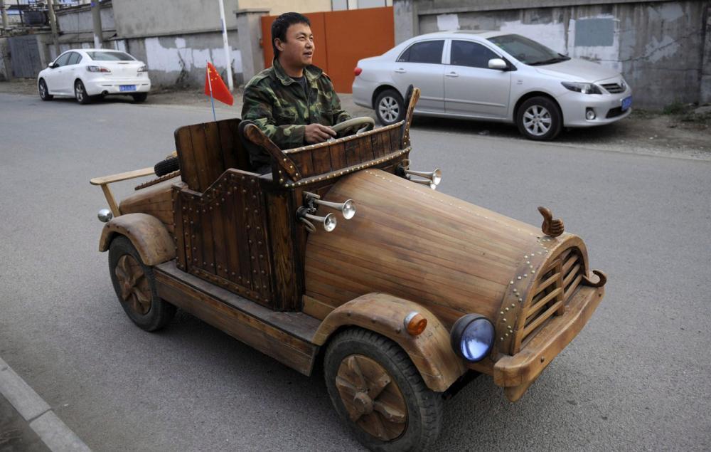 รถยนต์ฝีมือชาวบ้าน