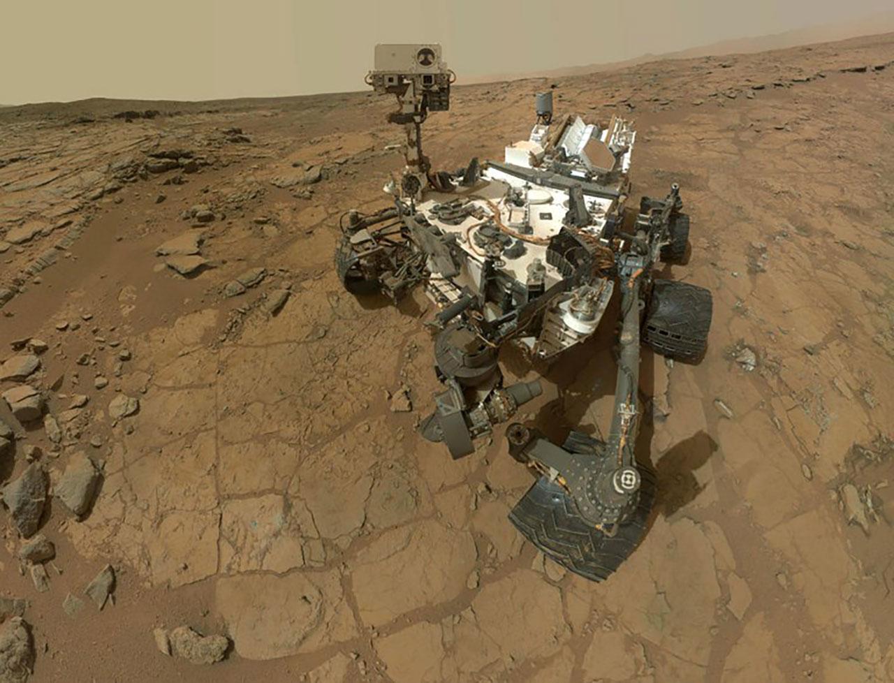 ยานสำรวจคิวริออสซิตี้บนดาวอังคาร