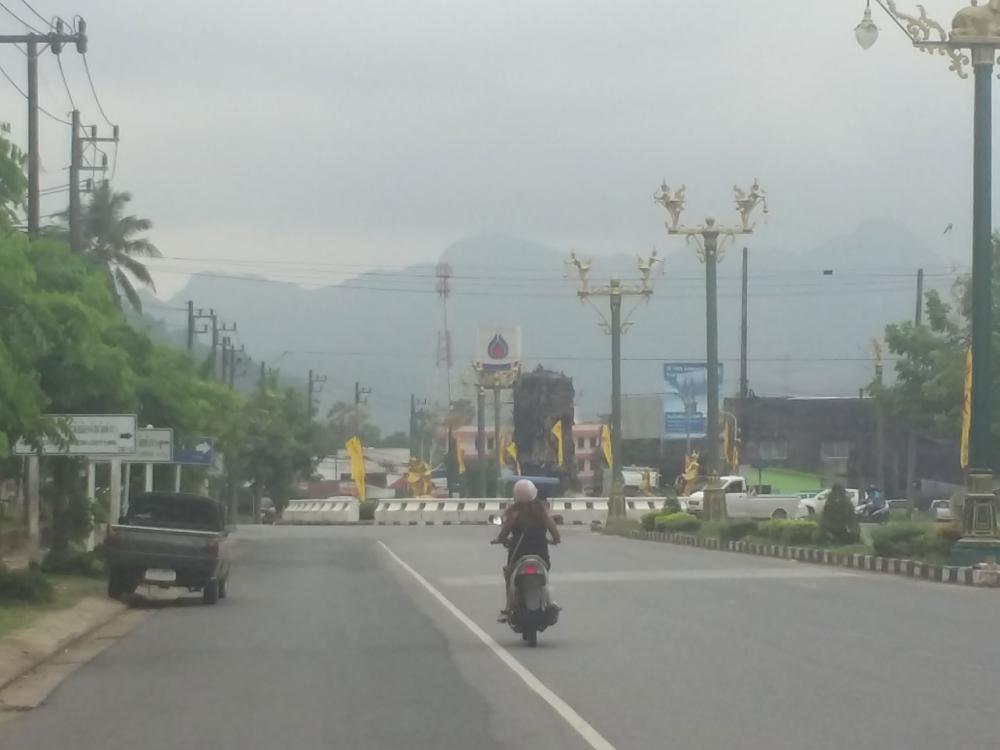 หมอกควันจาก ไฟป่าอินโดนีเซีย ยังสร้างผลกระทบกับประชาชนในภาคใต้
