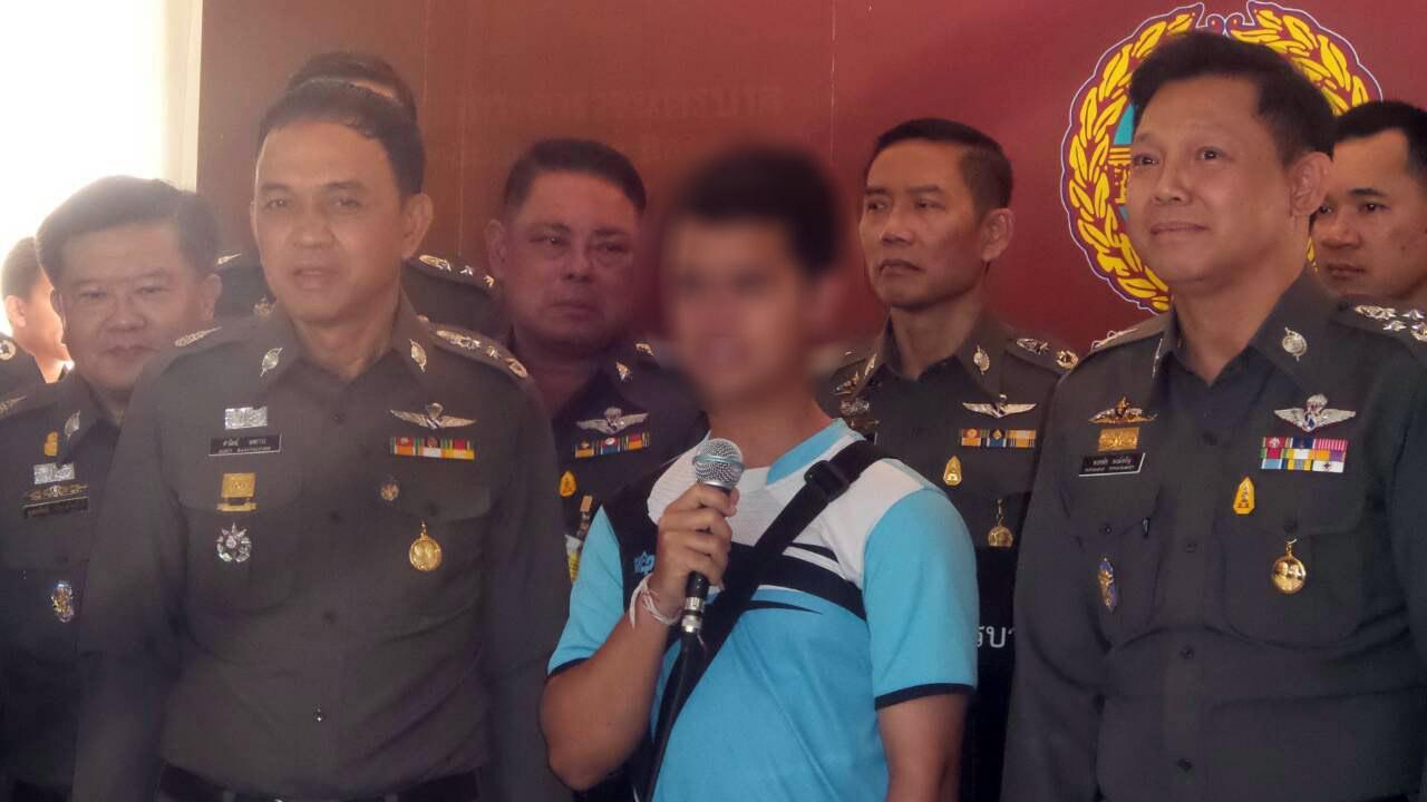 ผู้ต้องหาถูกจับ หลังอ้างกับแอร์ มีระเบิดในกระเป๋า