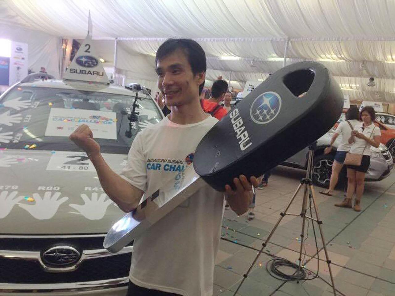 ผู้ชนะแตะรถชิงรถ Mr. Nguyen Phuoc Huynh