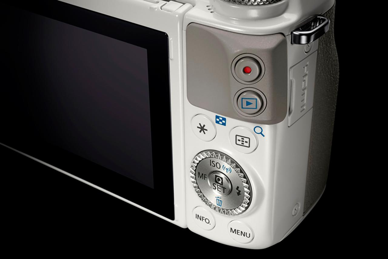 Canon EOS M3 มากับปุ่มคควบคุมและวงแหวนแบบที่ คนใช้ดีเอสแอลอาร์คุ้นเคย