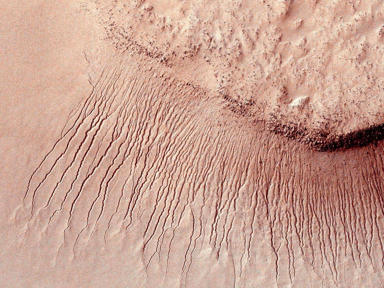ดาวอังคารมีน้ำ