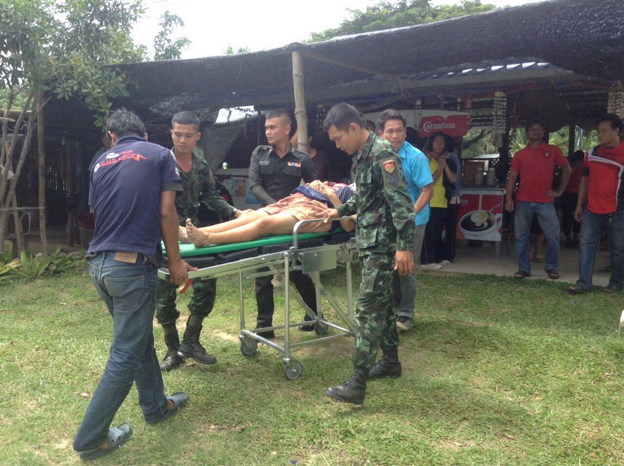 ได้ใจ!  3 พลทหาร ช่วยเหลือประชาชน ที่ อุบลราชธานี