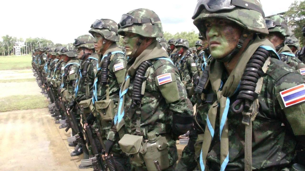 ทหารไทยที่เข้าร่วมฝึกร่วมผสม แชปเปิ้ล โกล์ด 2015