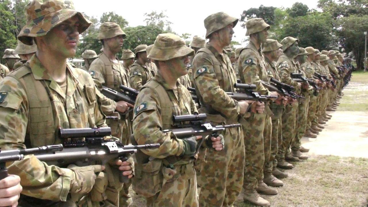 ทหารจากกองทัพบกออสเตรเลีย